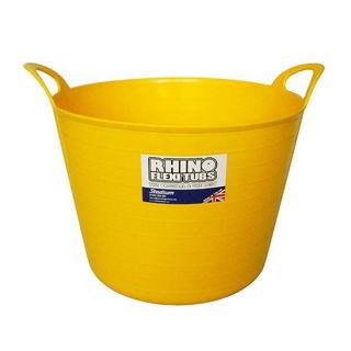 Picture of Rhino Flexi Tub Yellow