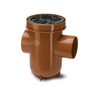 Picture of Polypipe Back Inlet Round Bottle Gully UG427