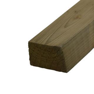 Timber Splayed Rail Murdock Builders Merchants