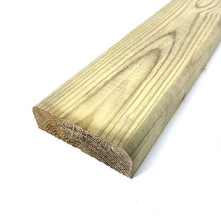 Timber D Rail 100mm x 35mm