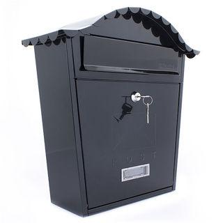 Sterling Classic Black Post Box
