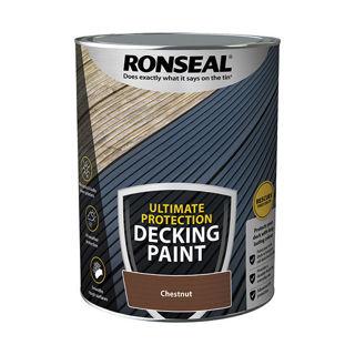 Ronseal Ultimate Decking Paint Chestnut 5lt